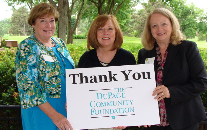 Outreach receives grant from The DuPage Community Foundation