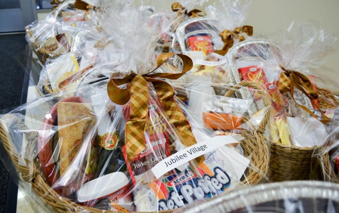 JV Thanksgiving Baskets - First Trust Cares 007-2