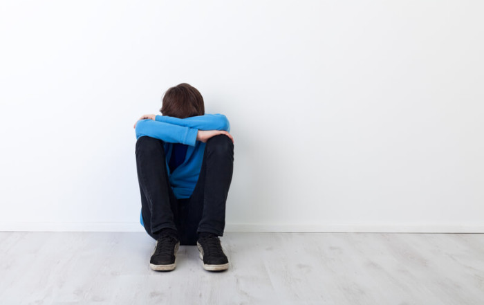 Boy in counseling at WYFS