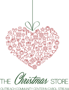 Christmas Store Logo - 2 Color English