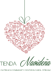 Christmas Store Logo - 2 Color Spanish