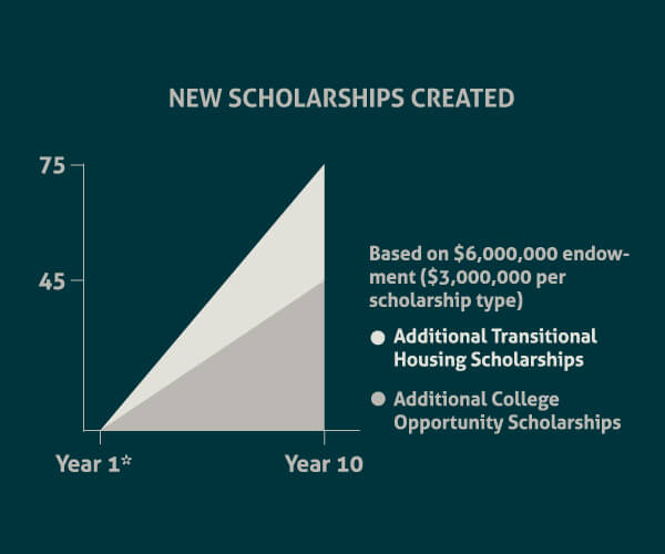New Scholarships Endowed