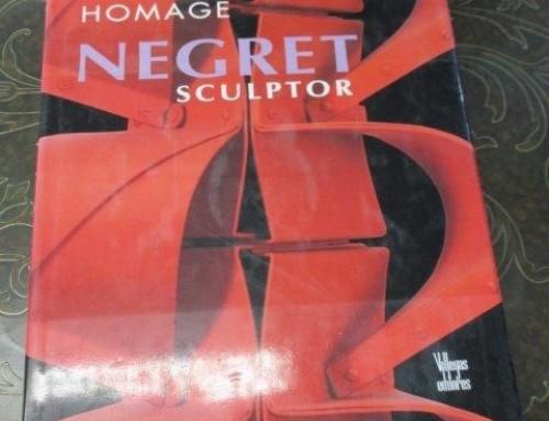Item #48CURIO – Rare Book, Homage Negret Sculptor – $195