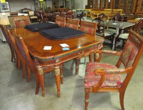 Item #37I – Modern Round Table – SALE $51