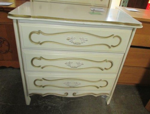 Item #115B/R & 87B/R – 3 Drawer Chest, 2 Available – $45 each