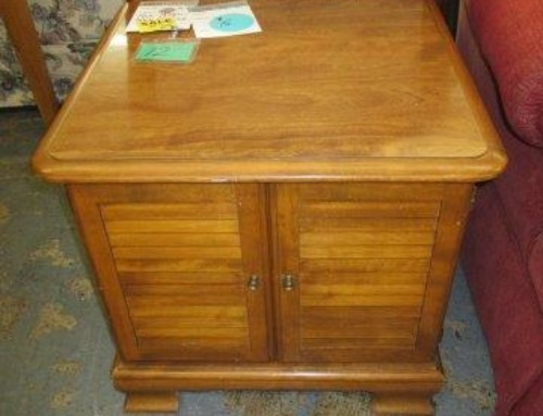 Item #12G – Maple Side Table – SALE $15