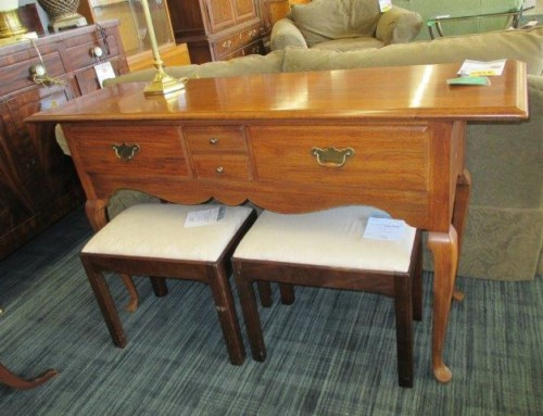Item #118A – Thomasville Server or Sofa Table – SALE $146.25
