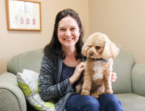 Meet OCCC's First Animal Assisted Therapist