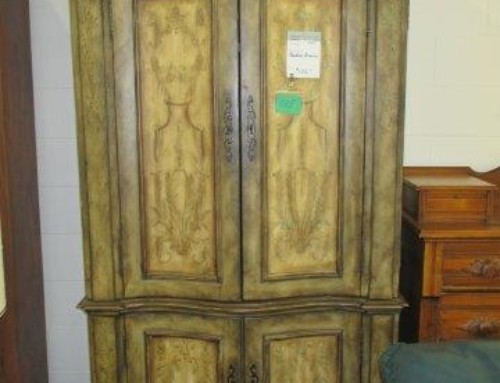 Item # 135K – Painted Armoire – $135
