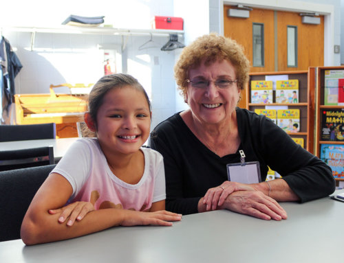 Retired Teacher Turned Volunteer