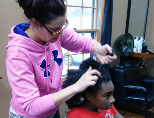 Warrenville Salon Donates Spa Day to WYFS Girls