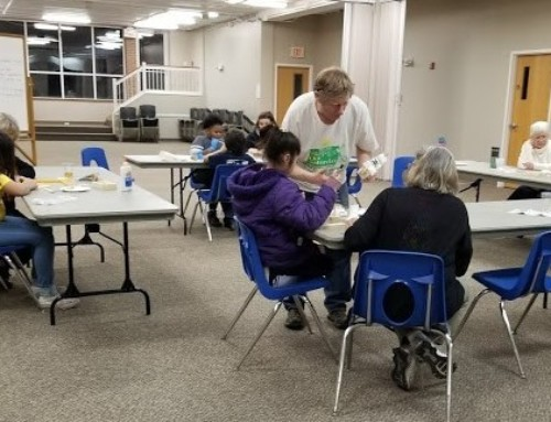Link Mentoring Learns Woodworking